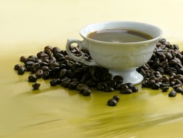 Coffee contains polyphenols and tannins, both of which interfere with iron absorption.