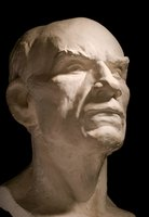 The Romans used plaster to create copies of Greek statues.