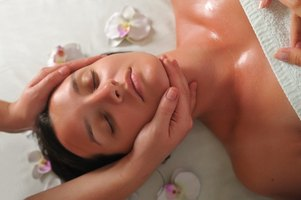 Estheticians perform facial services in the privacy of treatment rooms.
