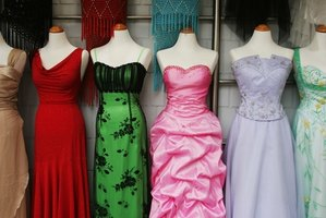 mannequins wearing beautiful evening dresses image by gina smith from