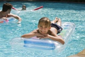 Maintain clear pool water by adjusting hardness and alkalinity.