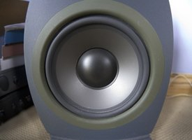 Foam-surround woofer