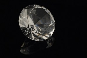 Diamonds are graded using the four Cs: carat, clarity, cut and color.
