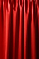 Red curtains can add sophistication to your room decor.