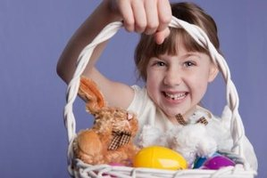 A riddling treasure hunt can add to the fun of Easter morning.