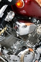A motorcycle is powered by many smaller systems, each with their own function.