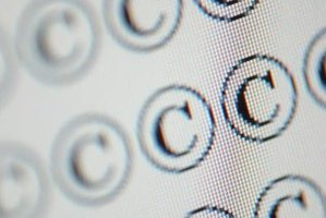 "A ""C"" in a circle is a symbol of copyright protection."