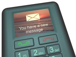 You can set your cell phone to repeat notification of new SMS messages.
