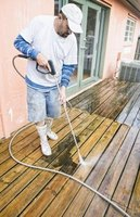 Pressure washers will not perform properly if clogged or kinked.