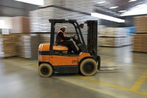 Warehouse vehicles must be inspected and driver's licenses checked periodically.