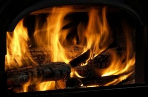 Wood fires leave creosote residue, which can smell unpleasant.