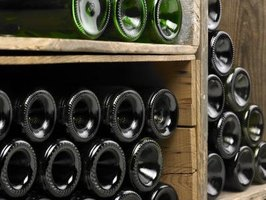 Wine cellars provide perfect conditions for long-term storage.