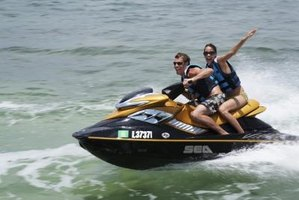After riding your Jet Ski, it is important to drain the water from the engine.