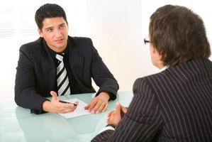 Interviewers need to be prepared to interview prospective managerial candidates.