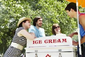 A mobile ice cream cart is just one option to consider for building a concession stand.