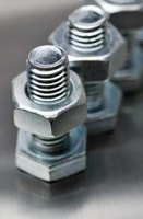 Carriage bolts and machine screws are often made from 1040 steel.