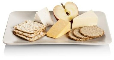 Crackers can make healthy snacks.