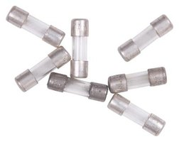 Glass fuses are commonly used in household appliances, such as refrigerators and stoves.