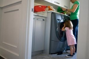 High capacity consumer washers are becoming more common in modern households.