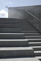Protect these stairs by applying a water-based concrete sealer.