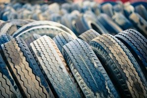 Improperly inflated tires will result in uneven wear on the tread.