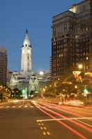 Philadelphia City Hall is an example of a prominent government building.
