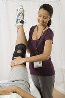 A physical therapist will help you regain strength and mobility in your injured knee.
