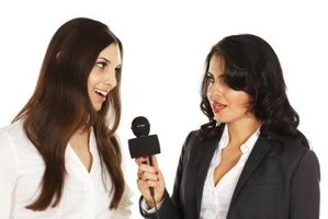 A public relations representative often is an organization's spokesperson.