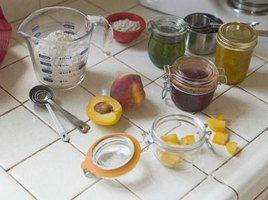 You can make your own jams and jellies using stevia instead of sugar.