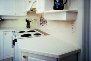 Cut a Laminate Countertop Backsplash Outlet