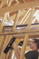 Air nailers greatly decrease the completion time on large projects.