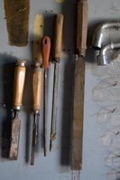 Proper storage can prevent rust from corroding your chisels.