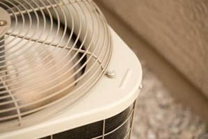 Cooling units must work hard to cool the 2nd floor of a house