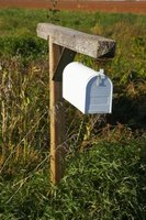 Remove your mailbox's post from the ground.