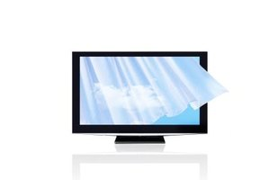 Laying down a flat screen properly when transporting it is critical to avoiding screen damage.