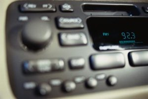 The replacement of the factory-issue stereo with an aftermarket unit can improve sound quality.