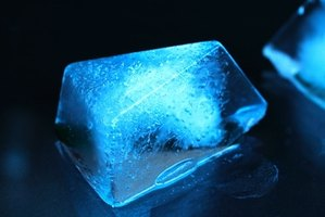 Some substances will allow ice to melt faster by lowering the temperature at which water will freeze.