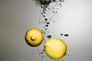 Lemon juices helps break down and remove mold.