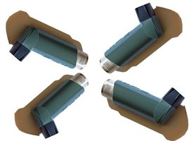 Inhalers help asthma sufferers with trouble breathing.