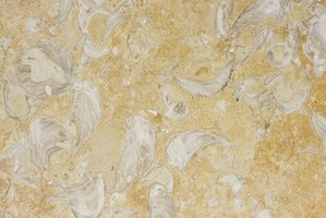Travertine tile comes in a variety of colors and patterns.