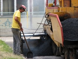 Reclaimed asphalt can be used in new pavement.