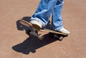 Longboards are great for quick transportation around town.