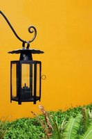 Change the color of your outdoor lighting to give your home a new glow.