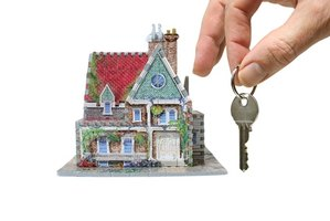 Making a down payment on a home is a key step in the buying process.