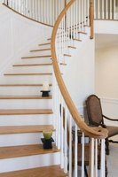 White stair risers add elegance and flow to your home.