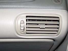 The low side service port keeps an air conditioner producing cold air.