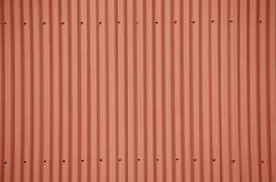 A painted corrugated panel for porch ceiling.