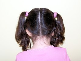 Head lice are most common in children.