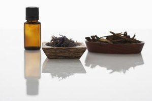 Lavender essential oil can be confused with fragrance oils.