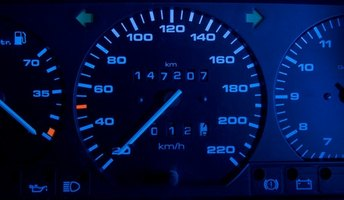 Diagnostic trouble codes activate a dashboard's set of warning lights.